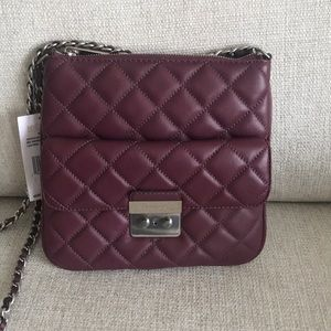 Michael Kors Sloan Quilted Swing pack Crossbody